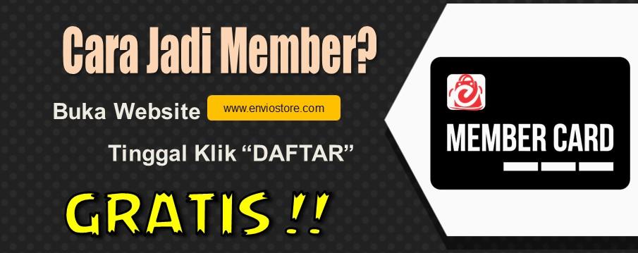 Cara Daftar Member